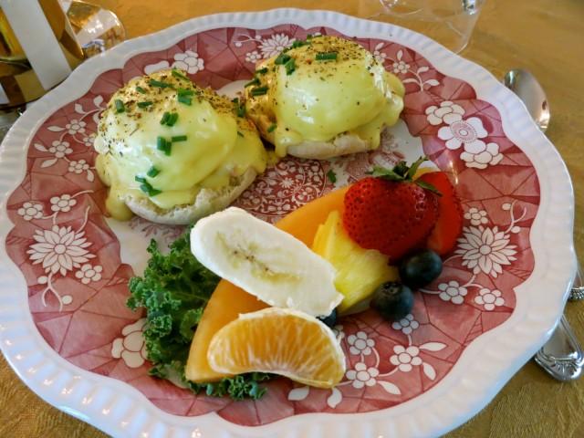 Back Creek Inn Breakfast, Solomons MD