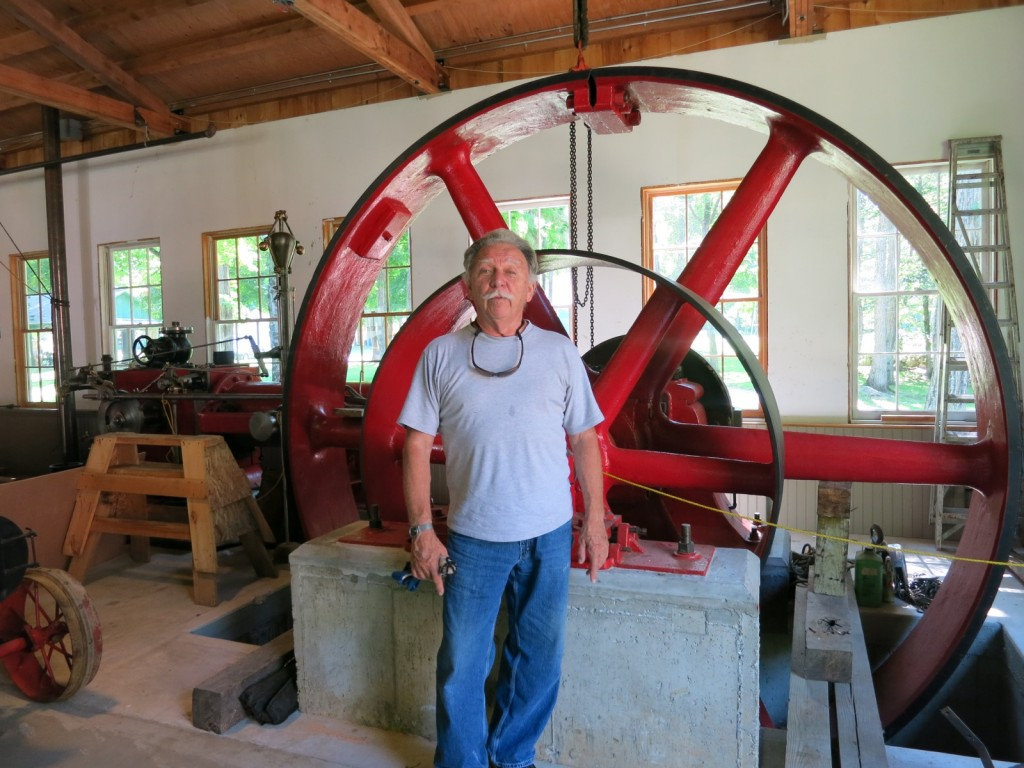 Civil Engineer Robert Burton, Antique Machinery Assoc. Kent CT