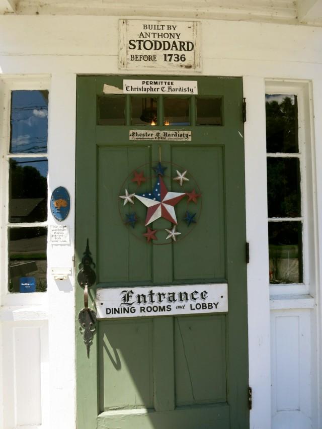 Curtis House Front Door