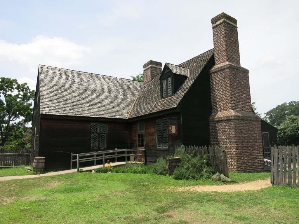 Elizabethian Style buildings, Historic St. Marys City MD