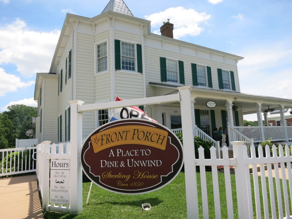 Front Porch Restaurant, Leonardtown MD