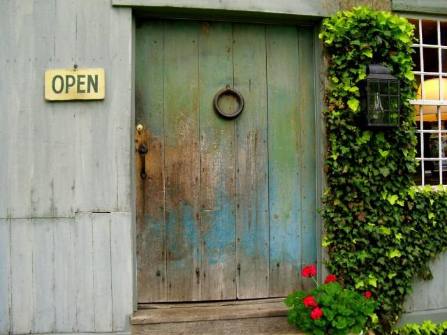 Indian Hatchet Door, Woodbury CT
