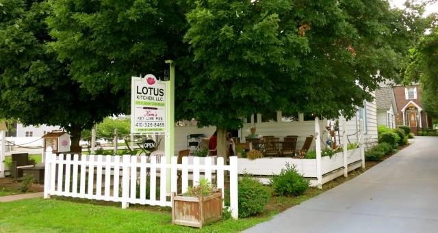 Lotus Kitchen, Solomons MD