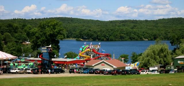 Quassy Amusement Park on Lake