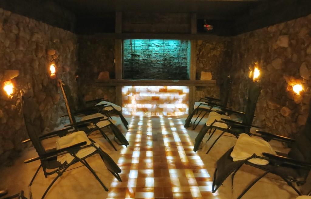 Salt Cave, Salt of the Earth Spa, Woodbury CT
