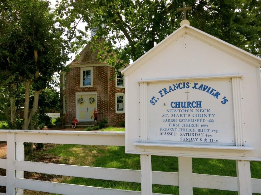 St. Francis Xavier Church, St. Marys County MD