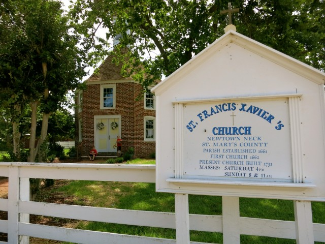 St. Francis Xavier Church, St. Marys County MD