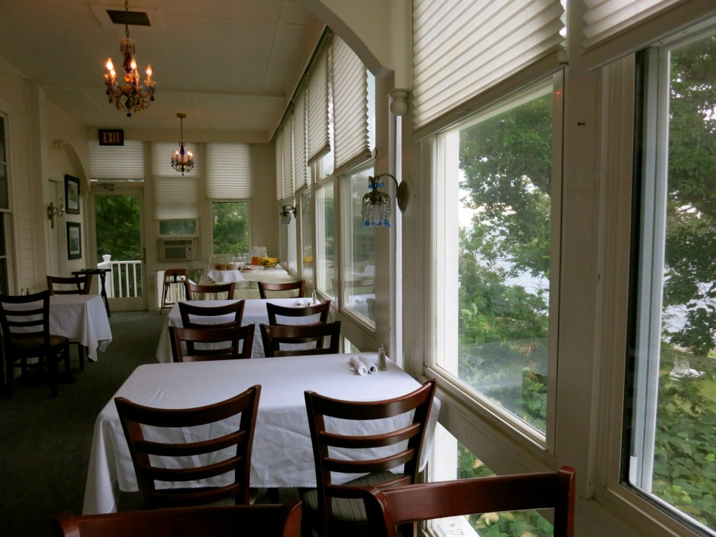 Breakfast Room at Yankee Clipper Inn, Rockport MA