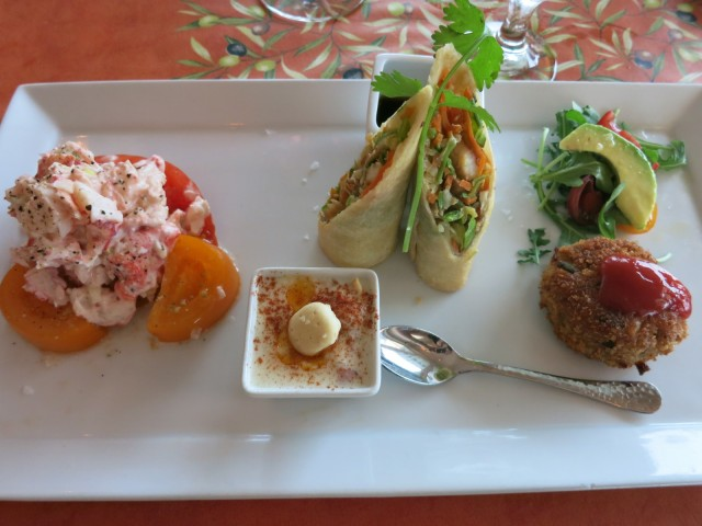 Chefs Seafood Trio, My Place By the Sea, Rockport MA