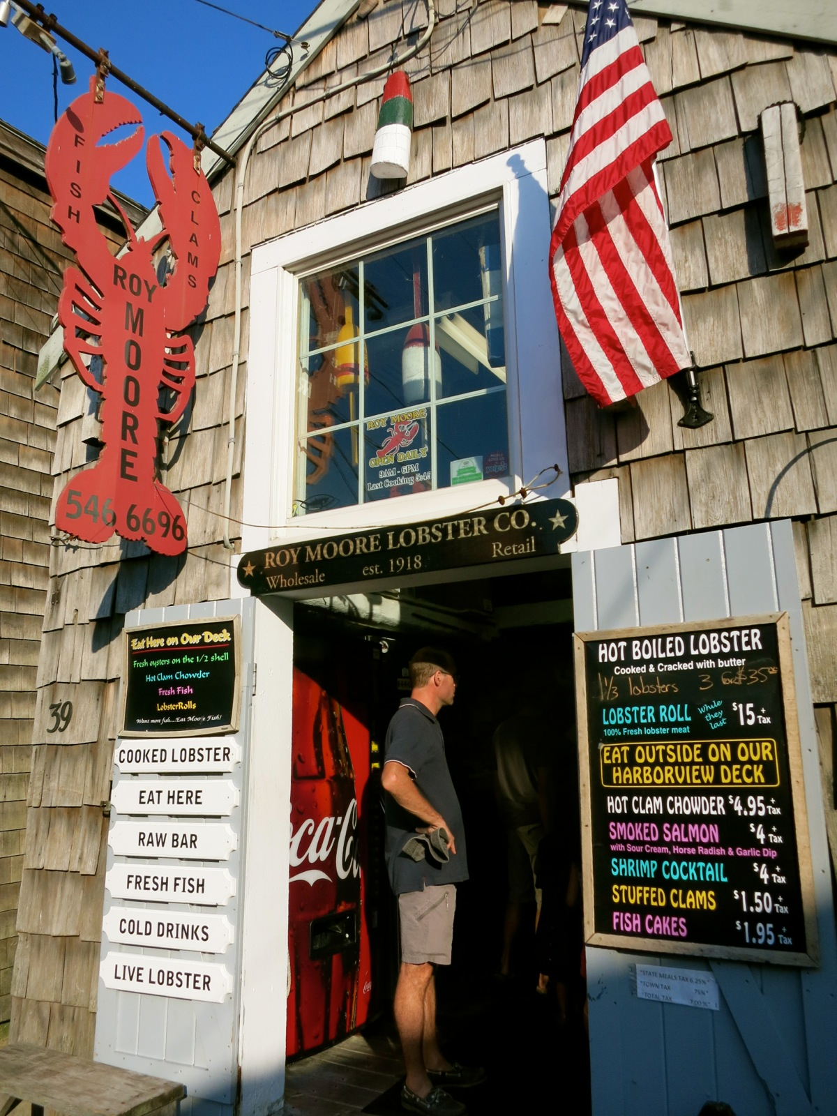 Roy Moore Lobster Co Rockport Ma Eat Budget