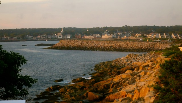 View from Yankee Clipper Inn, Rockport MA