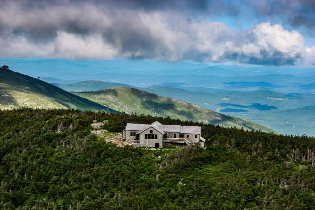 AMC Greenleaf Hut in the White Mountains
