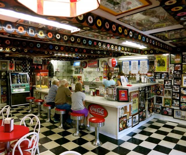 At The Hop 50's Ice Cream Shop, Bath NH
