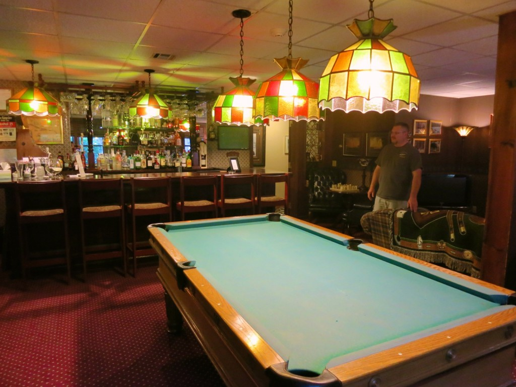 Bar and Billiards, Inn at Ellis River, Jackson NH