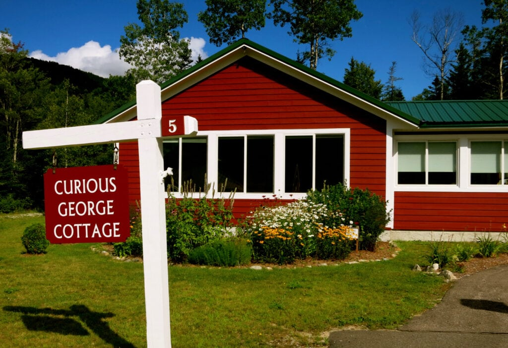 Curious George Cottage Waterville Valley NH