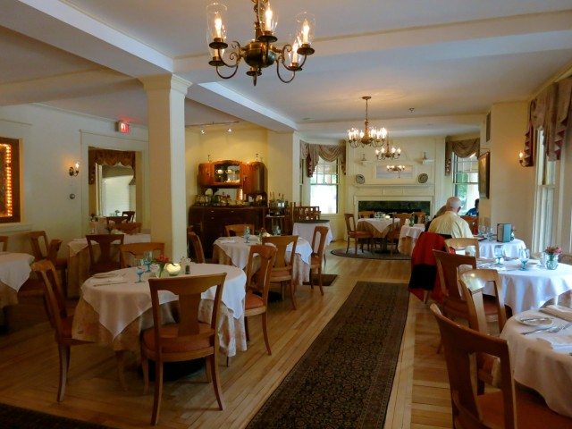 Dining Room, The Wentworth Hotel, Jackson NH