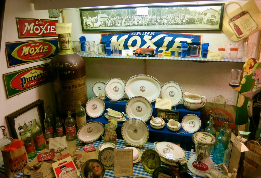 Drink Moxie, Clarks Trading Post NH