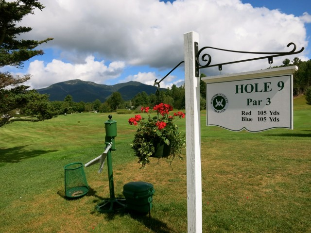 Golf Course, Waterville Valley NH