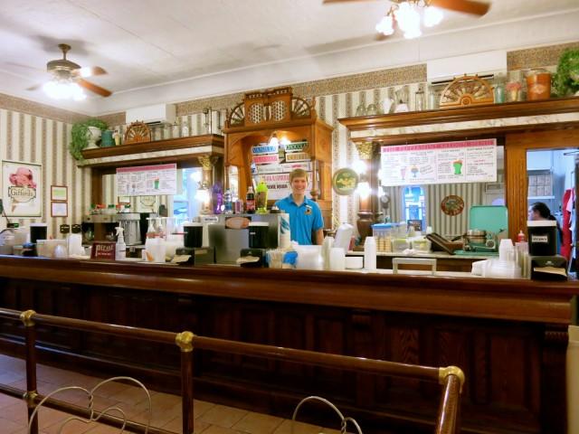 Ice Cream Fountain, Clarks Trading Post, NH