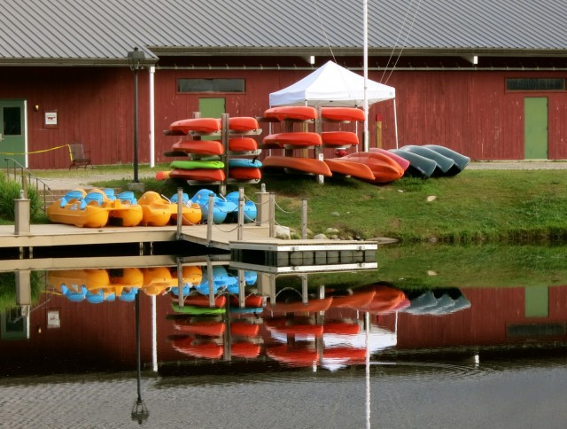 Kayaks, Waterville Valley NH