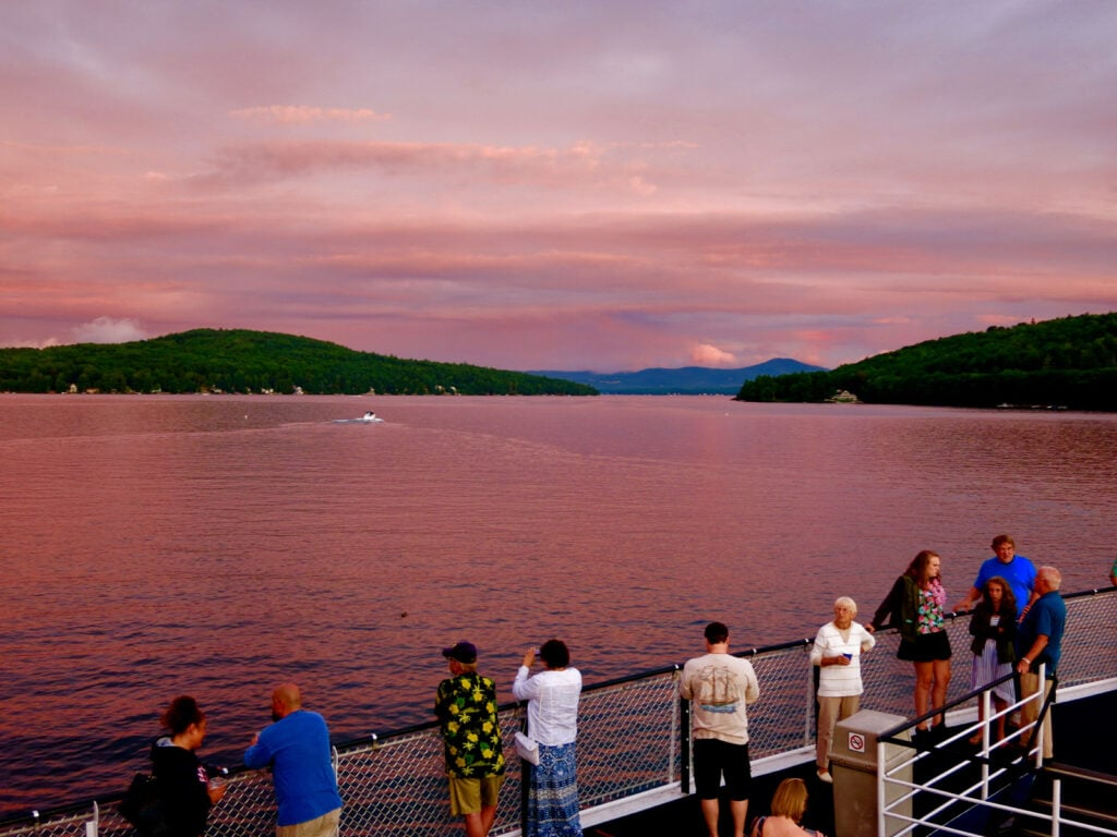 MS Mount Washington Sunset Cruise Lake Winnipesaukee NH