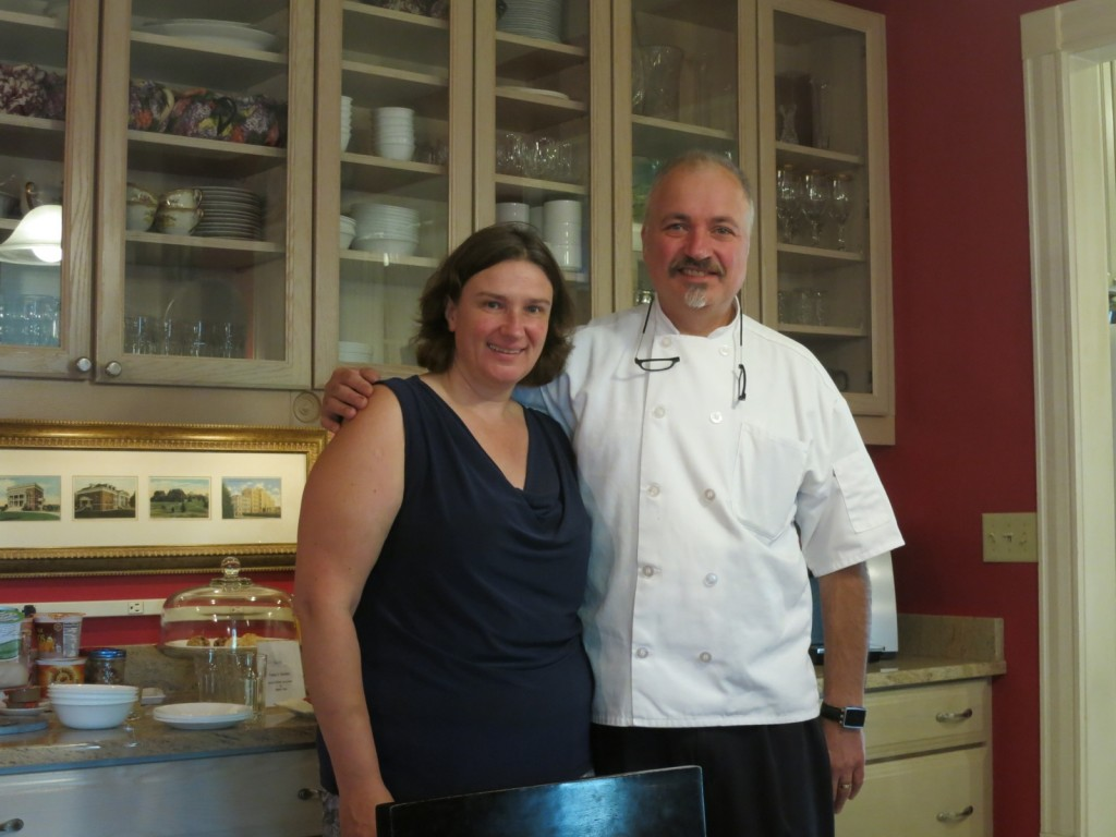 Margit and Rob, owners, Ash Street Inn, Manchester NH