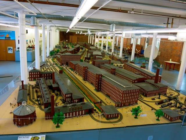 Millyard in Legos, SEE Center, Manchester NH