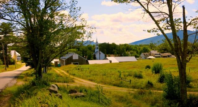 New England Postcard, Tamworth NH