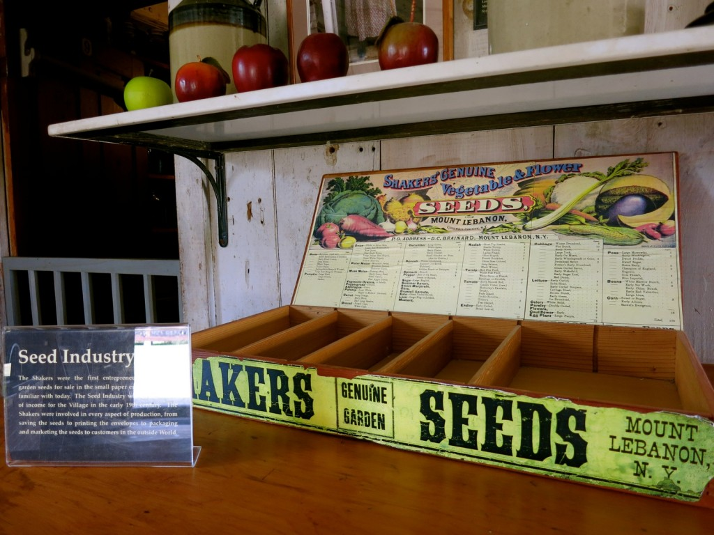 Package Seeds, Canterbury Shaker Village, NH