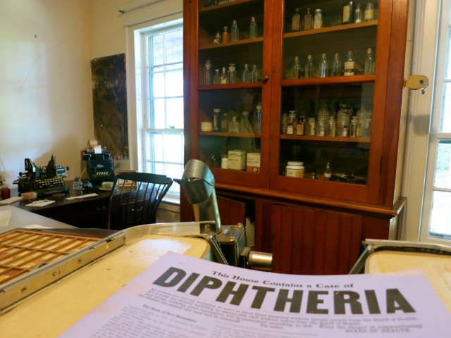 Pharmacy at Remick Country Doctor Museum, Tamworth NH