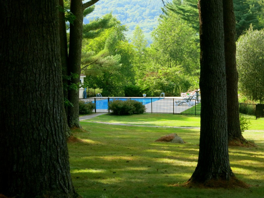 Pool at Manor on Golden Pond, Holderness NH