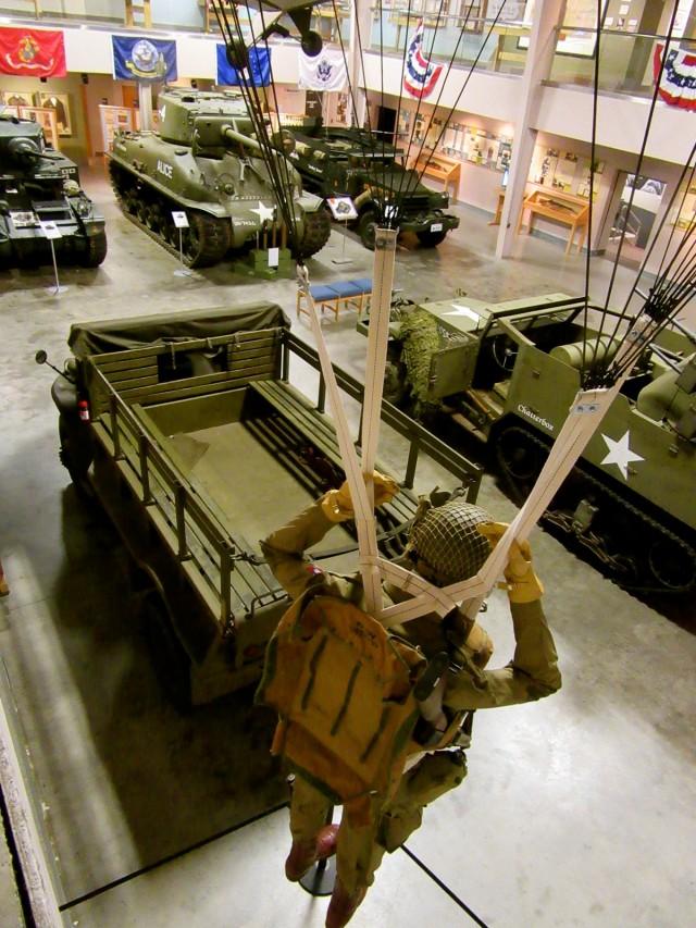 Restored Tanks, Wright Museum NH