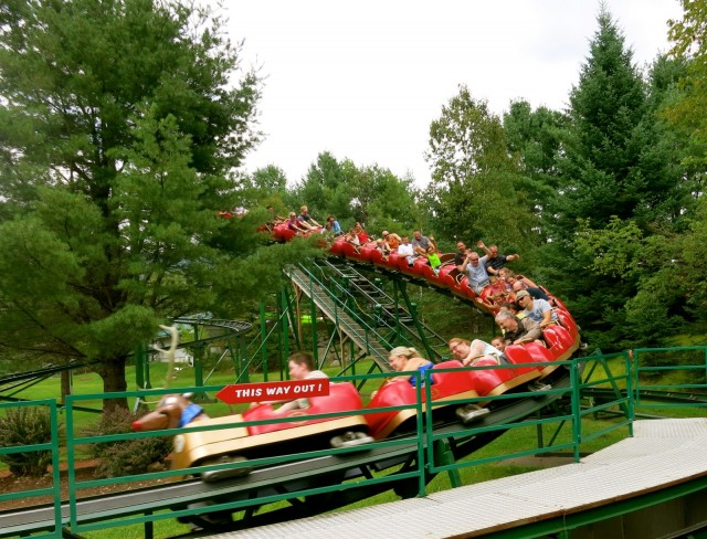 Roller Coaster, Santa's Village, Jefferson NH