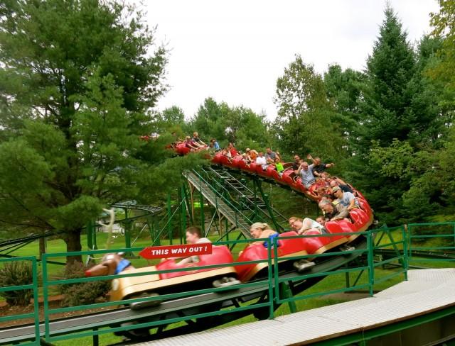 Roller Coaster, Santa's Village, Jefferson NH