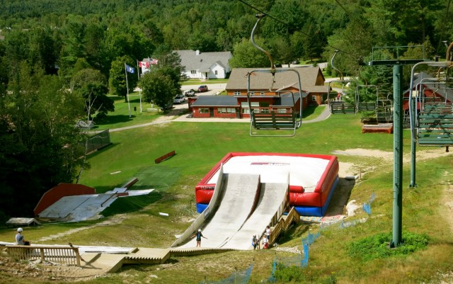 Snows Mtn. Lift, Waterville Valley NH