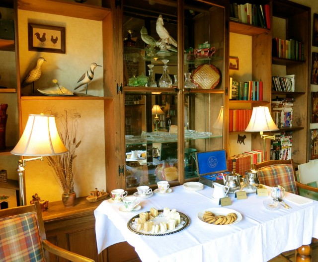 Tea Time, Manor on Golden Pond, NH