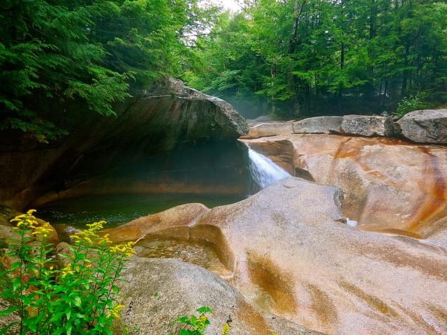 The Basin, Franconia Notch SP NH