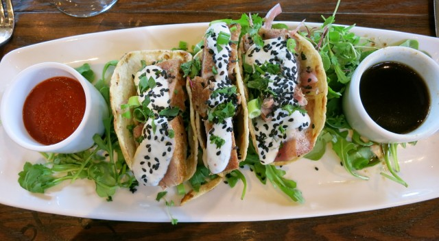 Tuna Tacos, LaBelle Winery NH