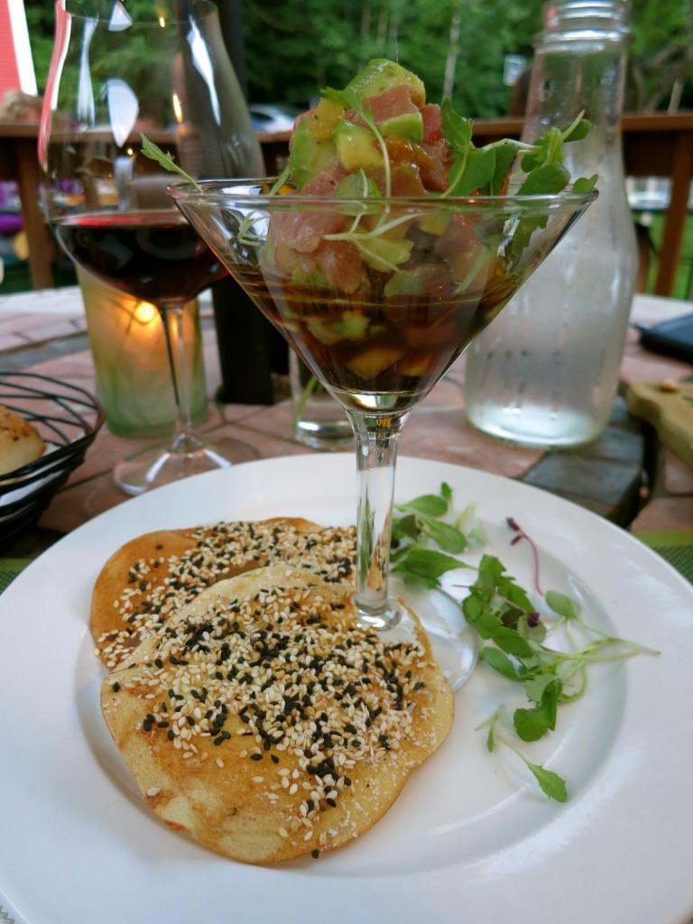 Tuna Tartar, Inn Kitchen, Holderness NH