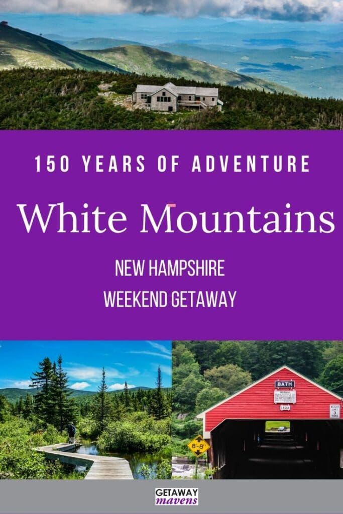 White Mountains Pinterest Pin