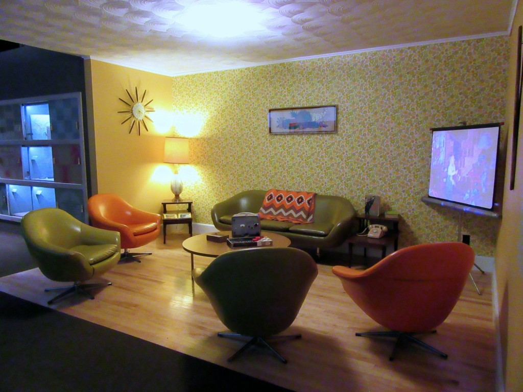60's Living Room, Maine State Museum, Augusta ME