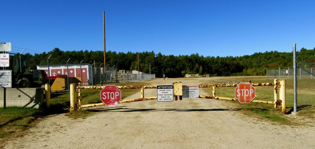 Entrance to Mt. Apatite SP, Auburn ME
