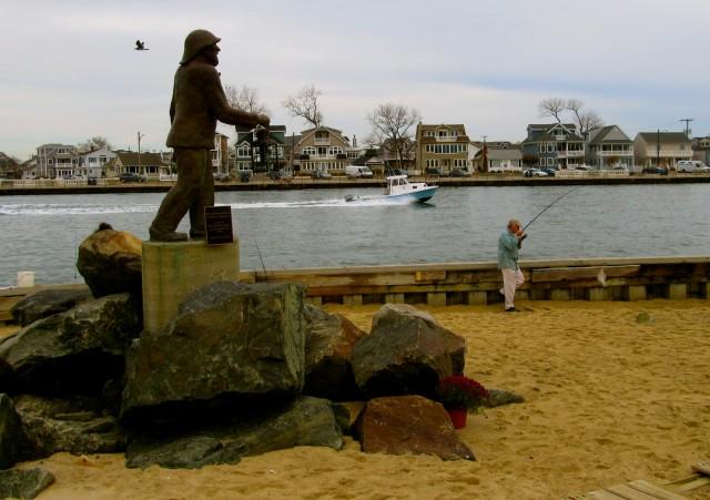 Fishermans Memorial, Point Pleasant NJ