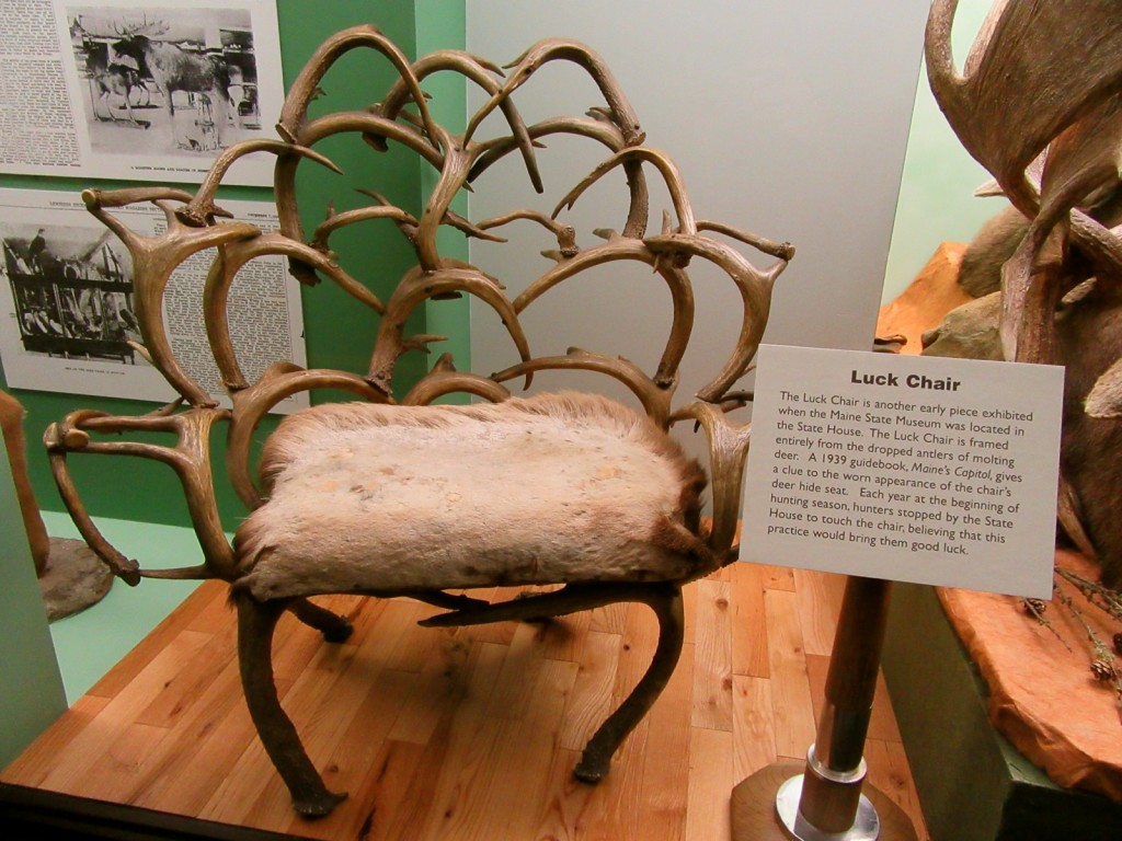 Luck Chair, Maine State Museum, Augusta ME