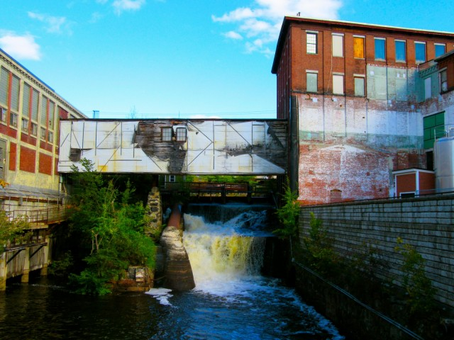 Old mill factory complex, Lewiston ME