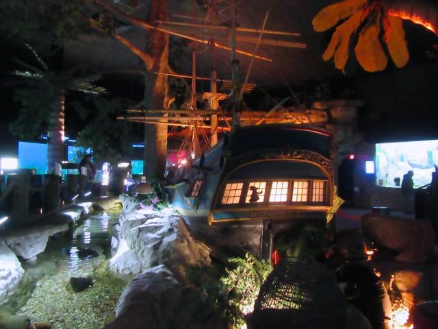 Pirate Ship, Jenkinsons Aquarium, Point Pleasant NJ