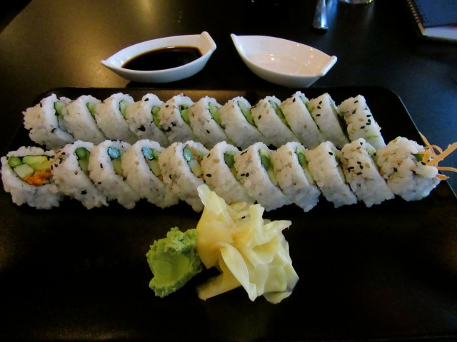 Sushi at Orchid, Lewiston ME