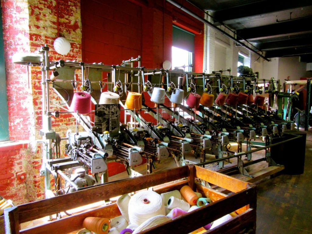 Textile Machinery, Museum L-A, Lewiston ME