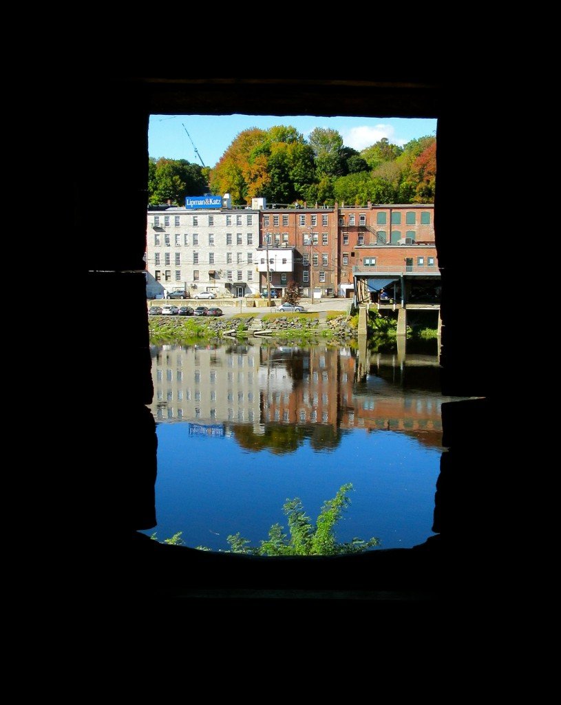View of Kennebec River from Old Fort Western, Augusta