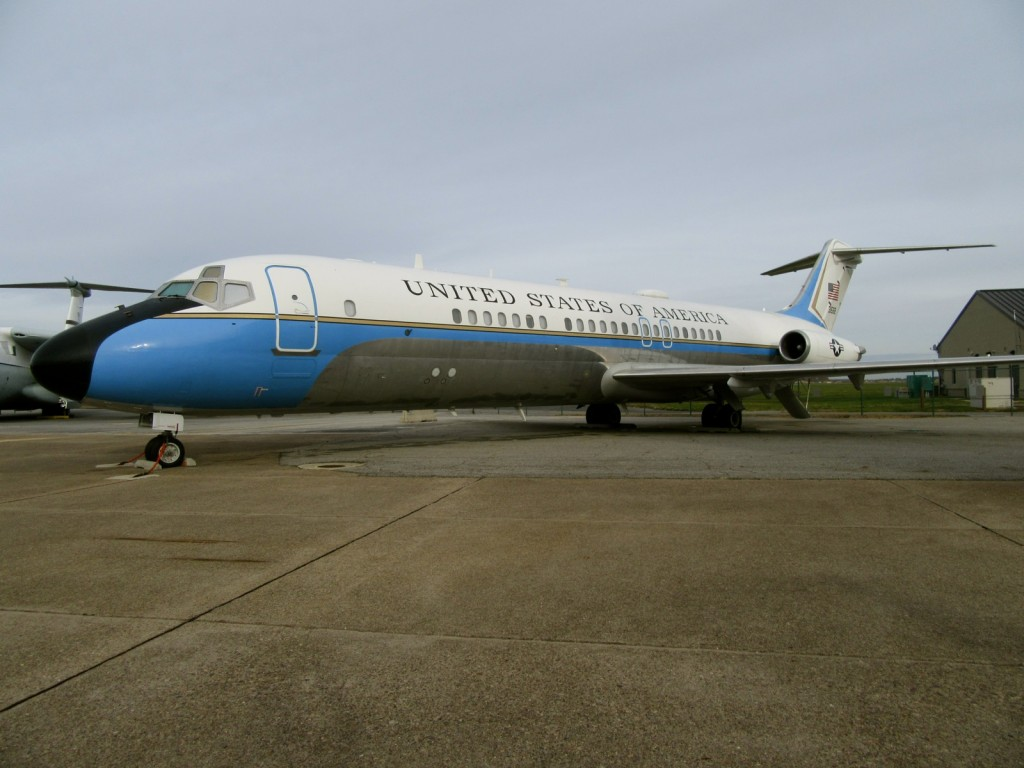 Air Force 2, Air Mobility Command Museum, Dover DE